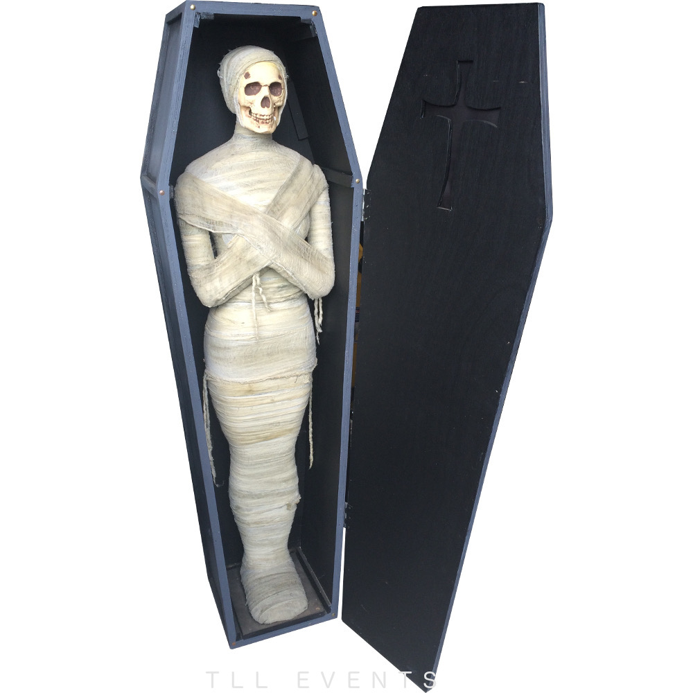 Tll Events Coffin With Mummy Tll Events
