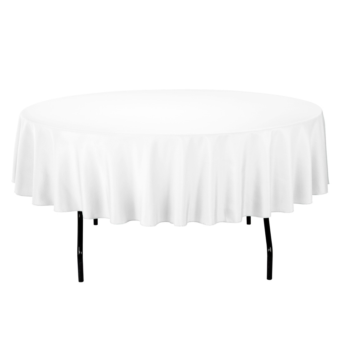 Tll Events White Round Table Cloth Tll Events