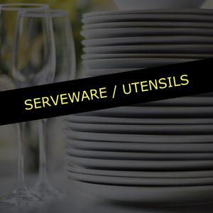 Serveware / Utensils